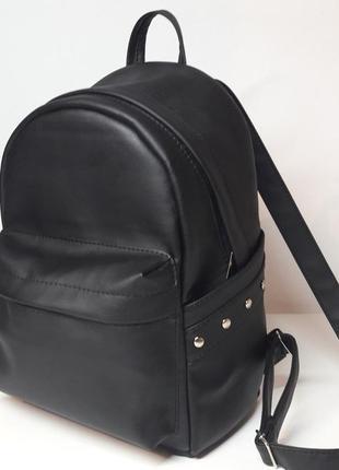 Женский рюкзак удобный черный