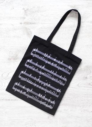 Еко-сумка з нотами для меломана / chambers musi