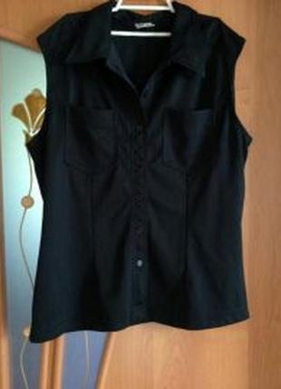 Черная рубашка yessica