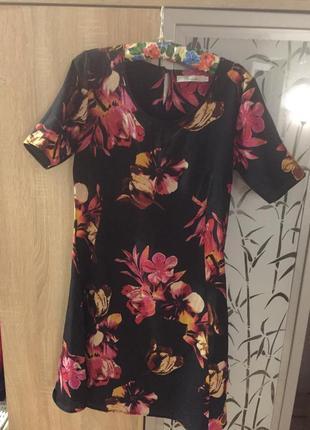 Платье в цветочный принт peacocks 8