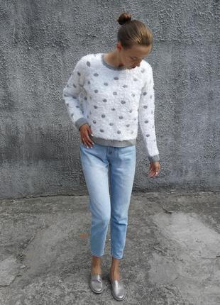 Пушистый свитер m&s