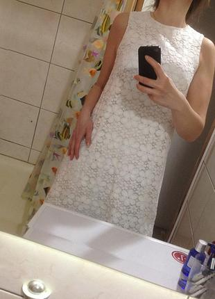 Кружевное платье f&f