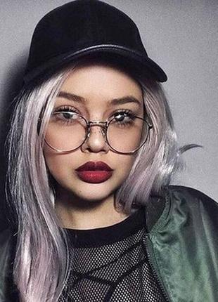 Имиджевые очки. очки нулёвки. овальные очки.очки для стиля.очки