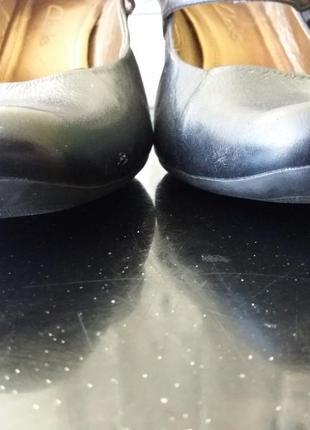 Супер туфли лодочка на среднем каблуке4