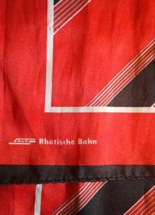 Элегантный атласный шарф шаль палантин3 фото