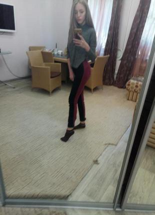 Двухцветные штаны от new yorker