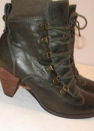 Buffalo london _стильные зимние ботинки _германия _39р_ст.25см н69