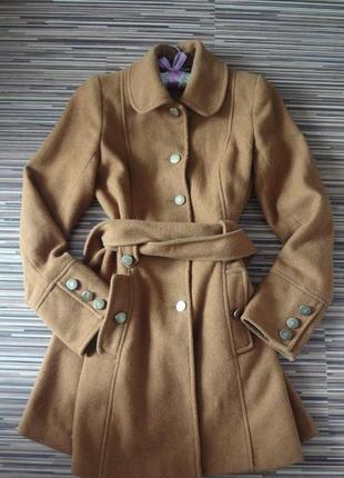 Шерстяное пальто miss selfridge