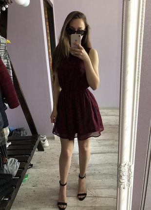 Платье в сердечки new look