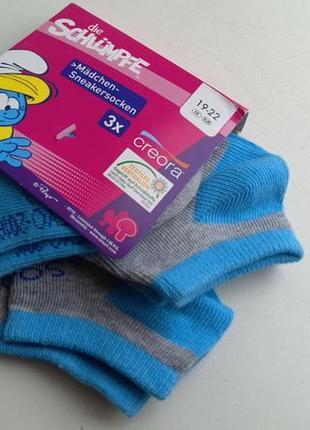 Детские носочки комплект, три пары 19-22 германия