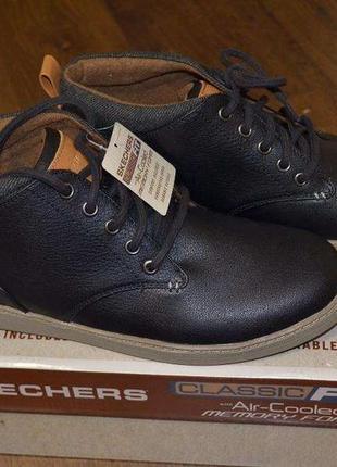 Стильные мужские ботинки skechers rolven оригинал  размер us 9.5/ 42