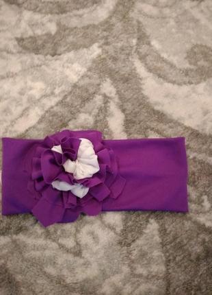 Красивая повязка повязочка украшение на голову