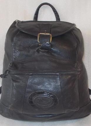 Крупный мужской рюкзак/сумка.натуральная кожа.