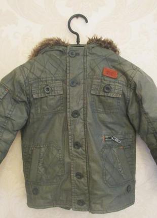 Куртка-парка демисезон 3-4 года