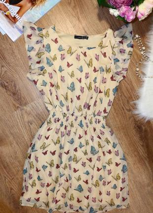 Нежное летнее платье от atmosphere принт бабочки