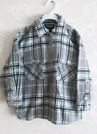 Теплая рубашка-куртка mexx 98-104