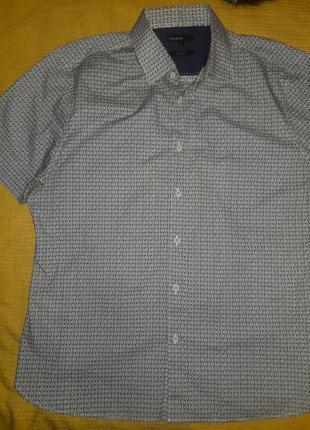 Рубашка m&s 100% хлопок  разм. xl