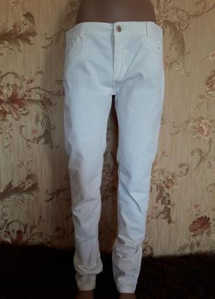 Белоснежные штаны р-р 50-52