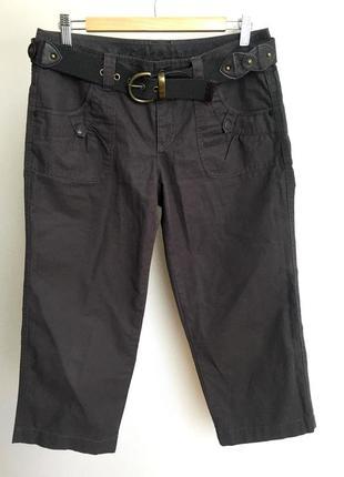 Капри бриджи короткие брюки шорты с поясом esprit