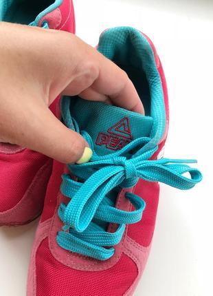 Кроссовки розовые peak / голубые/ кеды/ спортивные кроссовки