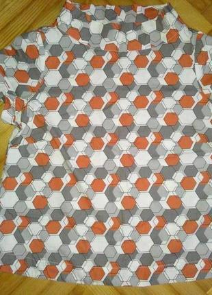 Хлопковая блуза в принт от шведского бренда indiska! p.-l