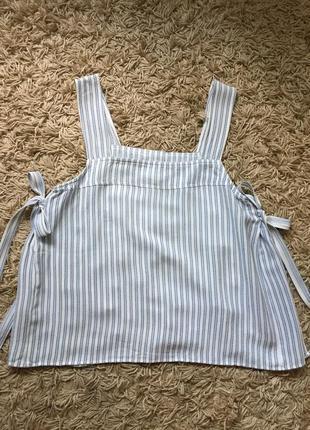 Вискозная майка блузка h&m