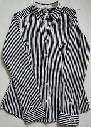 Рубашка в полоску от h&m p.m