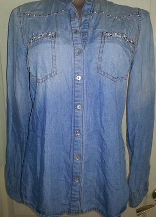 Стильная джинсовая курточка,кардиган,желетка ..м