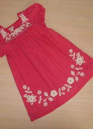 Нарядное летнее платье, сарафан monsoon,1.5-2 года,86-92 см, оригинал