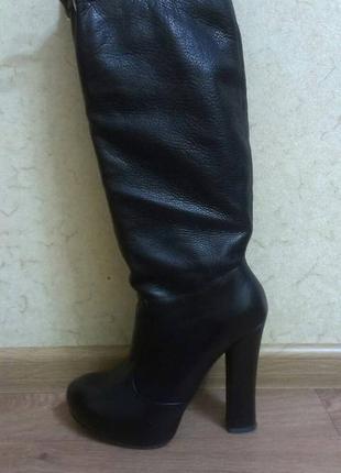 Du monde. оригинал. кожаные сапоги, 38 размер