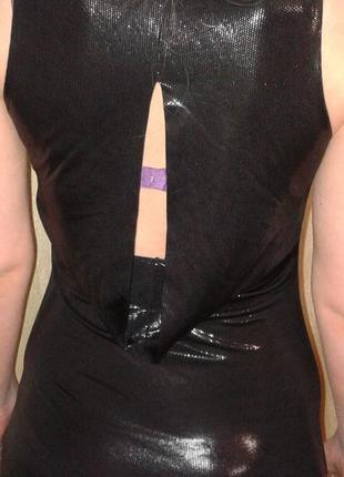 Платье вечернее / клубное черное