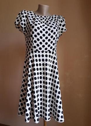 Красивое платье в горох billy&blossom британия