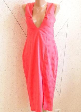 Новое шикарное платье футляр с биркой. размер 8-12