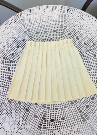 Классическая юбка-плиссе playdays