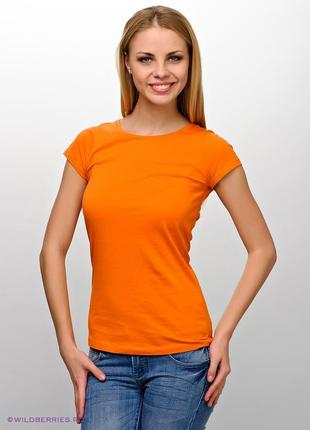 Оранжевая футболка doroty perkins