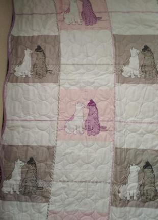 Очень милое покрывало плед для детской кроватки от françois saget