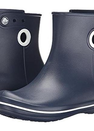Резиновые сапоги crocs jaunt shorty boot w7 w8