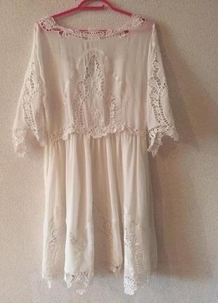 Роскошное летнее шелковое платье для особых случаев
