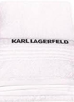 Рушник білий  karl lagerfeld