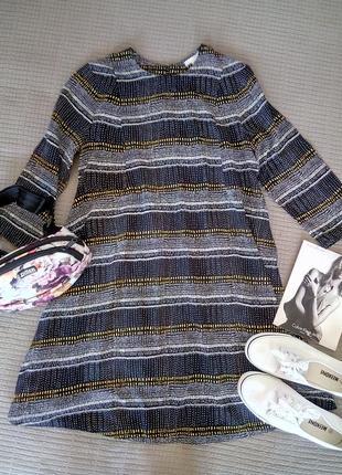 Актуальное платье h&m размер m-s