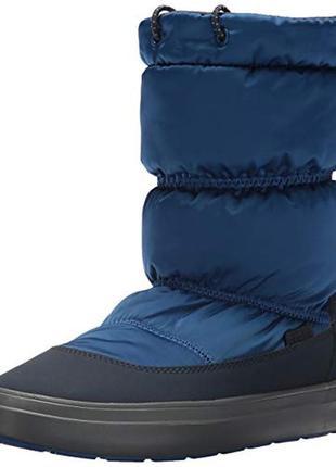 Зимние ботинки crocs lodgepoint pull-on boot w6