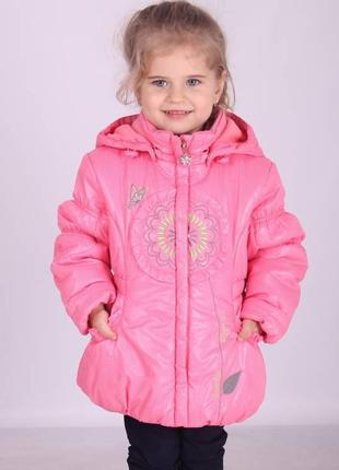 Демисезонная курточка для девочки donilo 80-110 донило данило