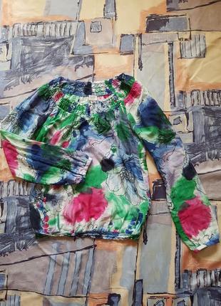 Блуза сорочка бохо