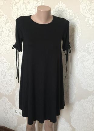 Платье- разлетайка/ платье свободного кроя xs-s