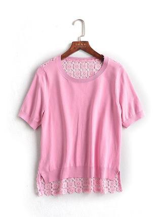 Блузка очень красивая с кружевной спинкой