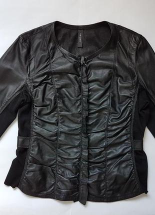 Куртка піджак шкіряна marccain