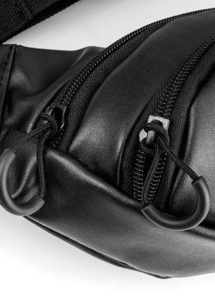 Кожаная сумка на грудь mod.kord3 фото