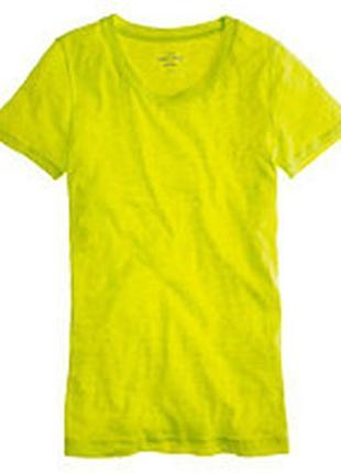 Яркая льняная футболка + 🎁топ benetton