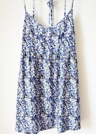Скидки!!! платье с открытой спинкой на завязках h&m