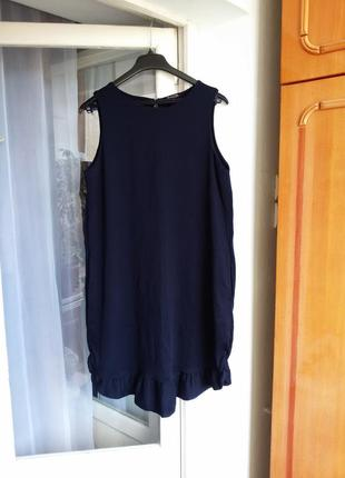 Свободное платье с карманами massimo dutti